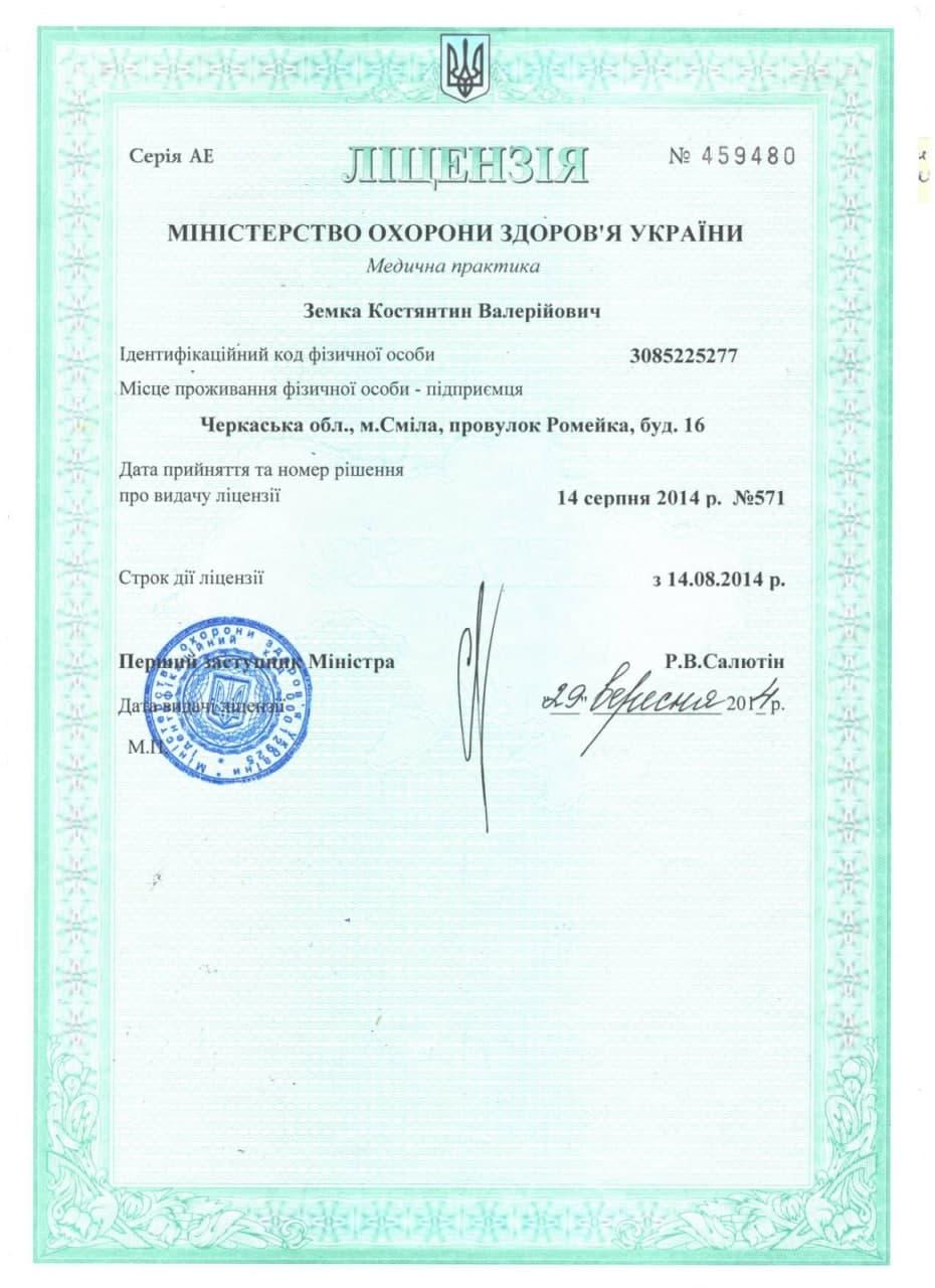 ліцензія 1